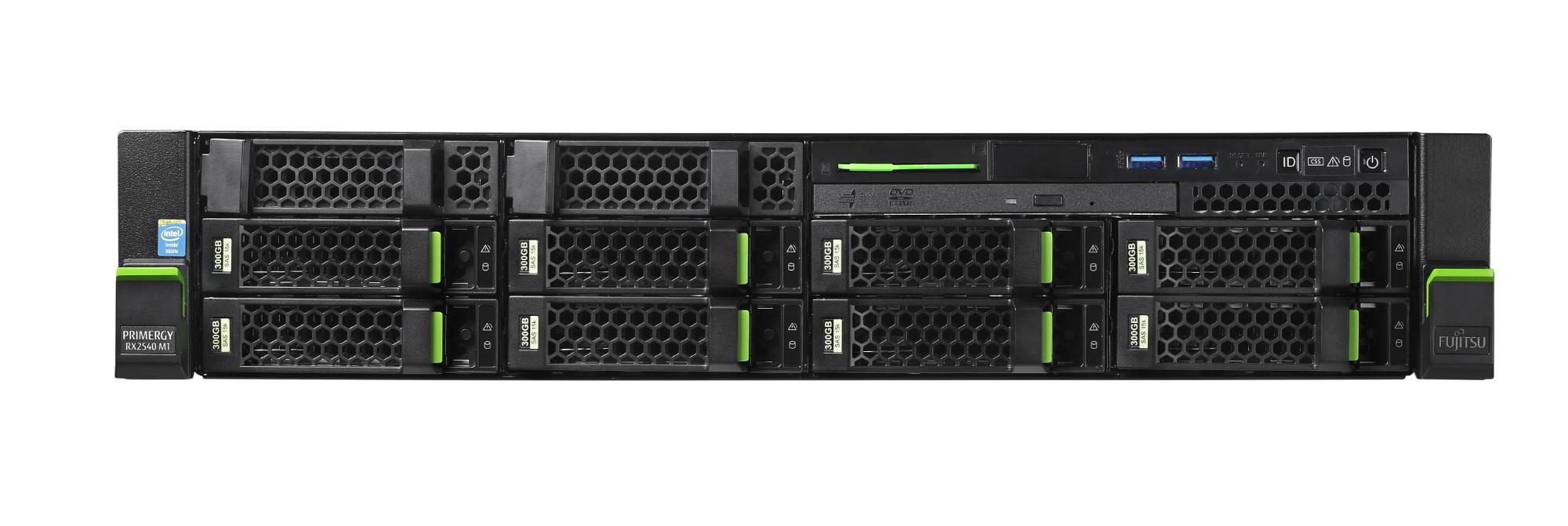 Fujitsu PRIMERGY RX2540 M2 2.1GHz E5-2620V4 800W Rack (2U) server