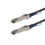 StarTech.com MSA Uncoded Compatible 3m 40G QSFP+ to QSFP+ Direct Attach Breakout Cable Twinax - 40 GbE QSFP+ Copper DAC 40 Gbps Low Power Passive Transceiver Module DAC