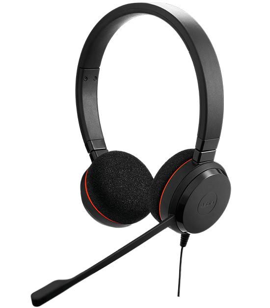 Jabra EVOLVE 20 Binaural Head-band Black headset