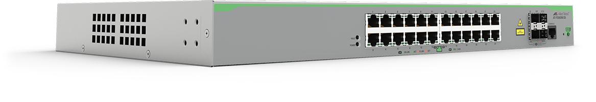 Allied Telesis AT-FS980M/28-50 Gestionado L3 Fast Ethernet (10/100) Gris Energía sobre Ethernet (PoE)