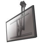 "Newstar TV/Monitor Ceiling Mount for 37""-75"" Screen, Height Adjustable - Silver"