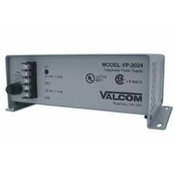 Valcom VP-2124D Power Supply Grey power plug adapter