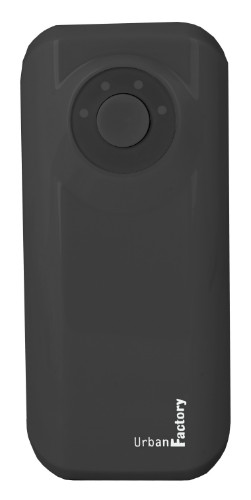 Urban Factory Power Bank Emergency 4400 mAh Black