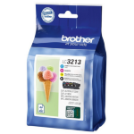 Brother LC-3213VAL Ink cartridge multi pack, 400 pages, Pack qty 4