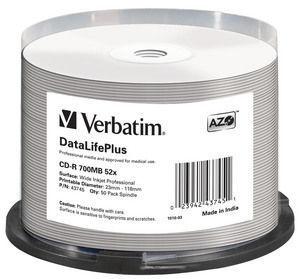 Verbatim CD-R 52x DataLifePlus 43745