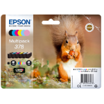 Epson C13T37884010 (378) Ink cartridge multi pack, 5,5ml 3x4,1ml 2x4,8ml, Pack qty 6