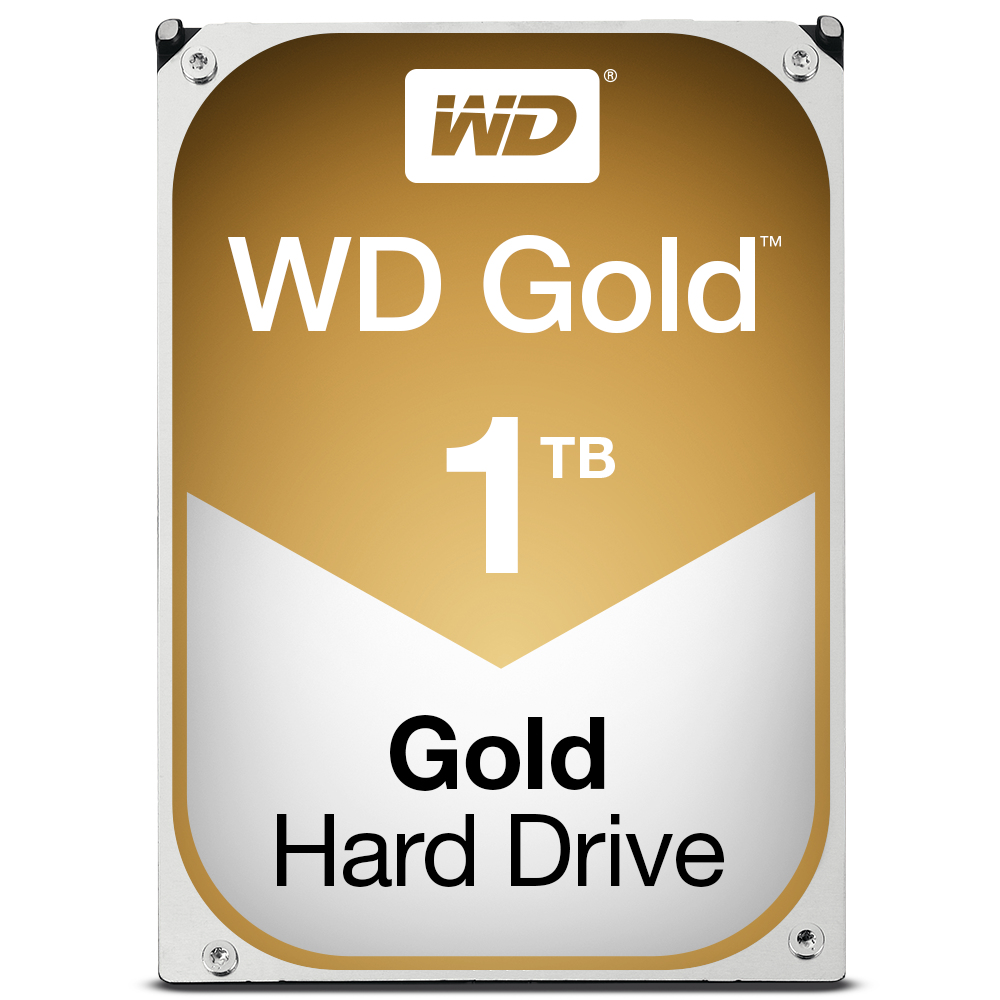 "Western Digital Gold 3.5"" 1000 GB Serial ATA III"