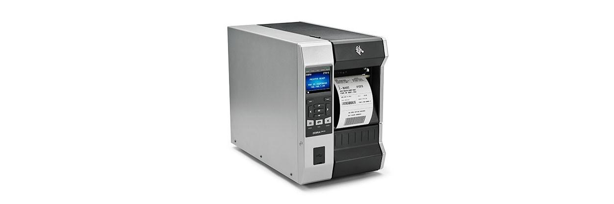 Zebra ZT610 labelprinter Thermo transfer 600 x 600 DPI Bedraad en draadloos
