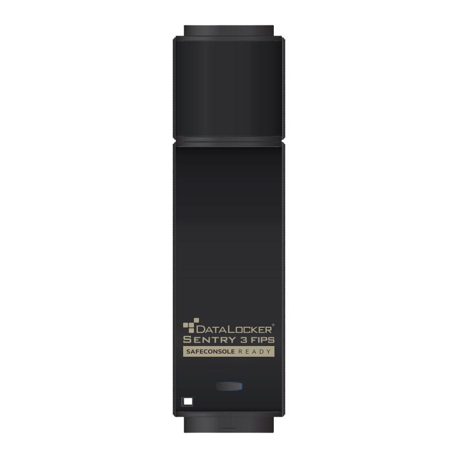 DataLocker Sentry 3 FIPS 64GB USB 3.0 (3.1 Gen 1) USB Type-A connector Black USB flash drive