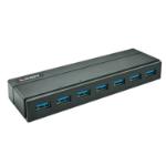 Lindy 43228 interface hub USB 3.2 Gen 1 (3.1 Gen 1) Type-A 5000 Mbit/s Black