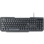 SPEEDLINK SCRIPSI keyboard USB QWERTY English Black