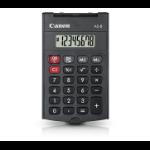 Canon AS-8 calculator Pocket Rekenmachine met display Grijs