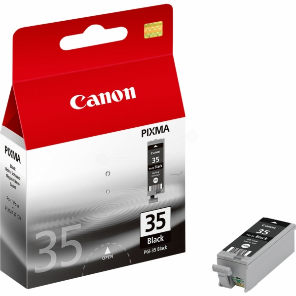 Canon 1509B001 (PGI-35 BK) Ink cartridge black, 191 pages, 9ml