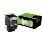 Lexmark 80C20K0 (802K) Toner black, 1000 pages