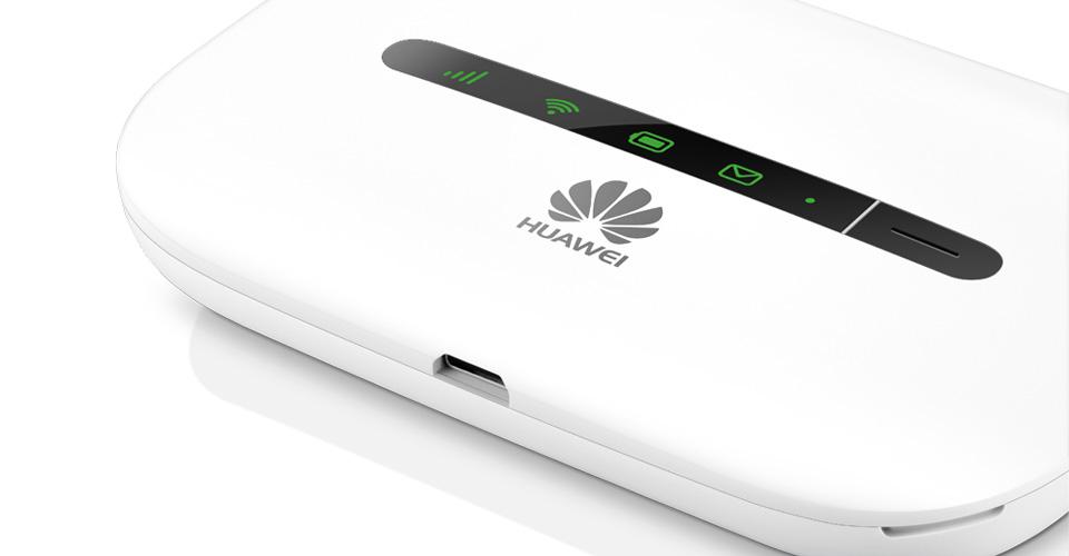 E5330 Mobile WiFi - White,