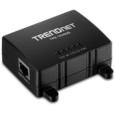 Trendnet TPE-104GS network splitter Black Power over Ethernet (PoE)