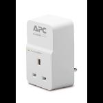 APC SurgeArrest White 1 AC outlet(s) 230 V