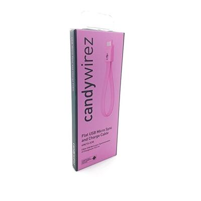 CANDYWIREZ USB 2.0 A (M) to USB 2.0 Micro B (M) 0.15m / 6