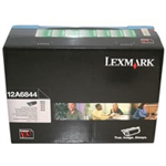 Lexmark 12A6844 Toner black, 25K pages @ 5% coverage