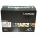 Lexmark 12A6844 Toner black, 25K pages @ 5% coverage