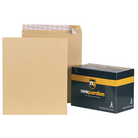 New Guardian Envelopes Heavyweight Pocket Peel and Seal Manilla 444x368mm [Pack 125]