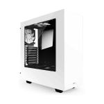 NZXT White S340 Mid Tower Chassis