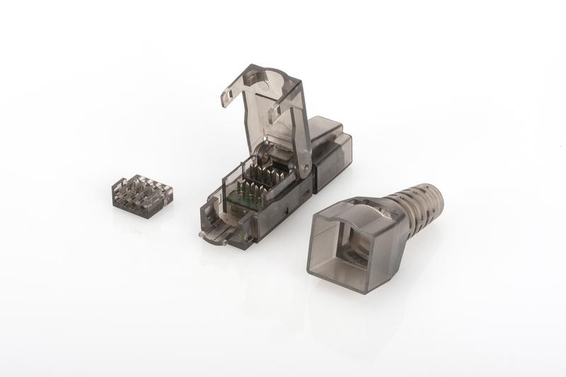 ASSMANN Electronic DN-93633 kabel-connector RJ45 Zwart