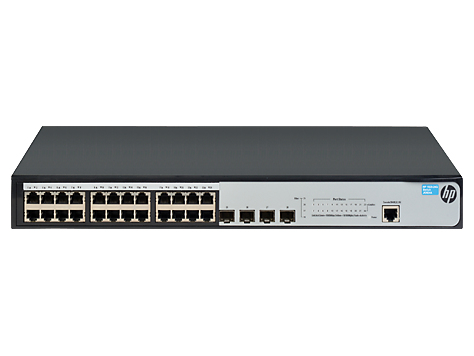 Hewlett Packard Enterprise OfficeConnect 1920 24G Managed L3 Gigabit Ethernet (10/100/1000) 1U Grey