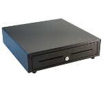 APG Cash Drawer VB320-BL1616-B5 Black cash tray
