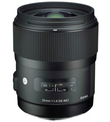 Sigma 35mm F1.4 DG HSM SLR Standard lens Black