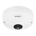 Hanwha QNF-9010 security camera IP security camera Indoor & outdoor Dome 3008 x 3008 pixels Ceiling