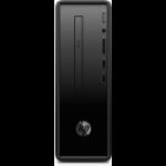 HP Slimline Desktop - 290-a0007na A6-9225 Mini Tower AMD A6 4 GB DDR4-SDRAM 1000 GB HDD Windows 10 Home PC Black