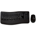 MICROSOFT Wireless Comfort Desktop 5000, Keyboard and Mouse, BlueTrack, Ergonomic, Retail