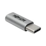 Tripp Lite USB 2.0 Hi-Speed Adapter, USB-C to USB Micro-B (M/F)