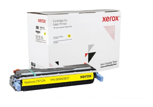 Xerox 006R03837 compatible Toner yellow, 12K pages @ 5% coverage (replaces HP 645A)