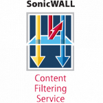 SonicWALL Premium Content Filtering Service for the TZ 100 Series (1 YR)