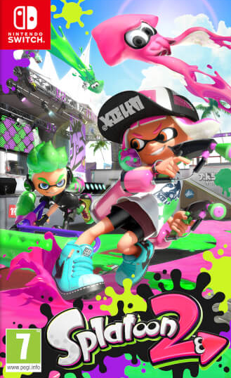 Nintendo Splatoon 2, Switch video game Nintendo Switch Basic