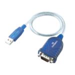 i-tec USBSEAD seriële kabel Blauw, Transparant USB RS-232