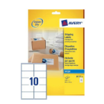 Avery J8173-25 addressing label White Self-adhesive label