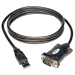 Tripp Lite USB to Serial Adapter Cable (USB-A to DB9 M/M), 1.52 m (5-ft.)