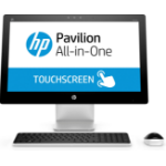 """HP Pavilion 23-q107na 2.8GHz i7-6700T 23"""" 1920 x 1080pixels Touchscreen Black,White All-in-One PC"""