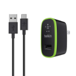 Belkin F7U001TT06-BLK Indoor Black mobile device charger