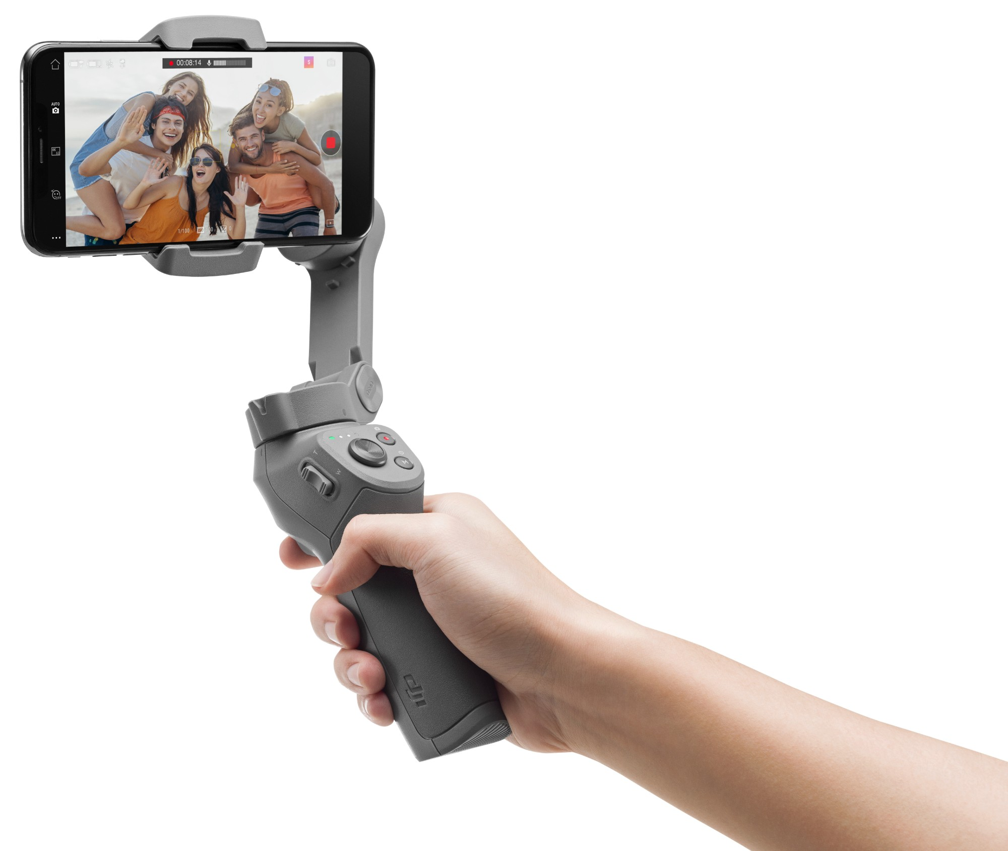 DJI Osmo Mobile 3 Stabilisator voor smartphonecamera Grijs