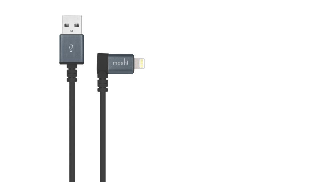Moshi 99MO023043 mobile phone cable iPhone iPad Pro iPad mini iPad Air USB A Lightning Black 1.5 m