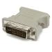 StarTech.com Adaptador Conversor DVI-I a VGA - DVI-I Macho - HD15 Hembra - Blanco