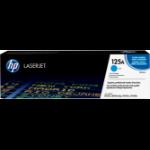 HP 125A 1 stuk(s) Origineel Cyaan