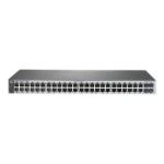 Hewlett Packard Enterprise 1820-48G-PoE+ (370W) Managed L2 Gigabit Ethernet (10/100/1000) Gray 1U Power over Ethernet (PoE)