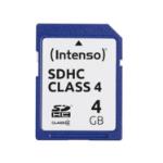Intenso 3401450 memory card 4 GB SDHC Class 4