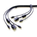 StarTech.com 25 ft. PS/2-Style 3-in-1 KVM Switch Cable