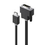 ALOGIC 2m Mini HDMI to DVI Cable - Male to Male
